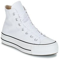 Zapatos Mujer Zapatillas altas Converse CHUCK TAYLOR ALL STAR LIFT CANVAS HI Blanco
