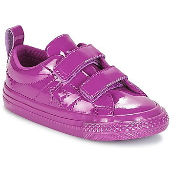 Zapatos Niña Zapatillas bajas Converse ONE STAR 2V SYNTHETIC OX Violeta