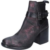 Zapatos Mujer Botines Moma botines burdeos cuero BY911 rojo