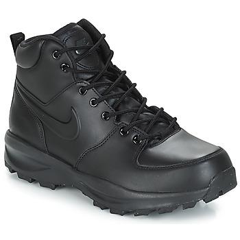 Zapatos Hombre Botas de caña baja Nike MANOA LEATHER BOOT Negro