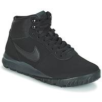 Zapatos Hombre Botas de caña baja Nike HOODLAND SUEDE Negro