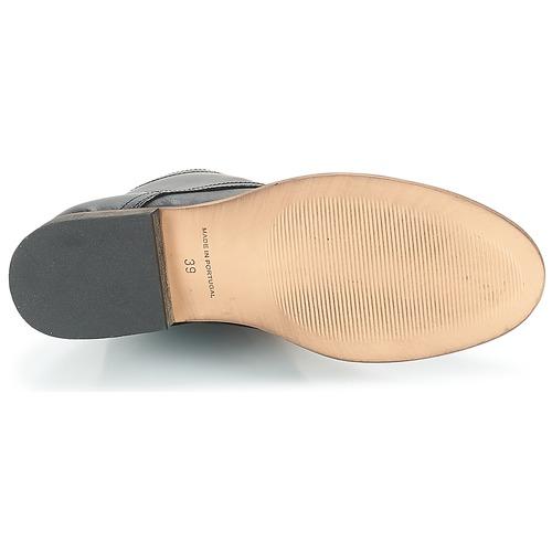 Zapatos De London Foliane Negro Botas Mujer Baja Betty Caña 2ID9WEH