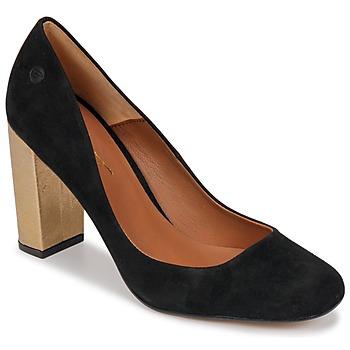 Zapatos Mujer Zapatos de tacón Betty London JIFOLU Negro / Oro