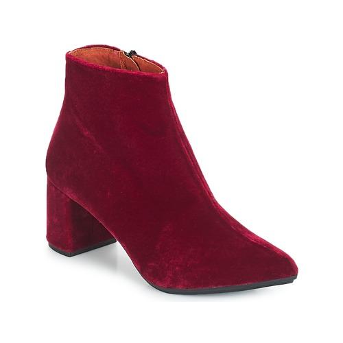 Los zapatos más populares para hombres y mujeres Betty London JILOUTE Burdeo - Envío gratis Nueva promoción - Zapatos Botines Mujer