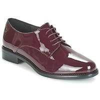 Zapatos Mujer Derbie Betty London CAXO Burdeo