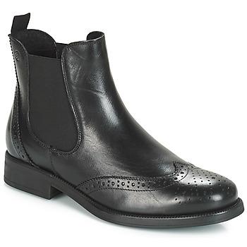 Zapatos Mujer Botas de caña baja Betty London Josta Negro
