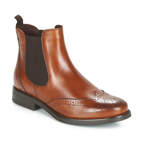 Caña Betty London Mujer De Botas Baja Zapatos Josta Marrón 2HW9EDIY