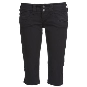 textil Mujer Pantalones cortos Pepe jeans VENUS CROP Negro