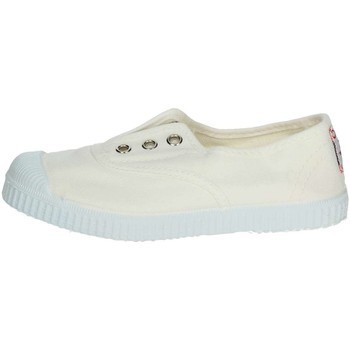 Zapatos Niños Zapatillas bajas Cienta 70997 Sneakers Boy Blanco Blanco