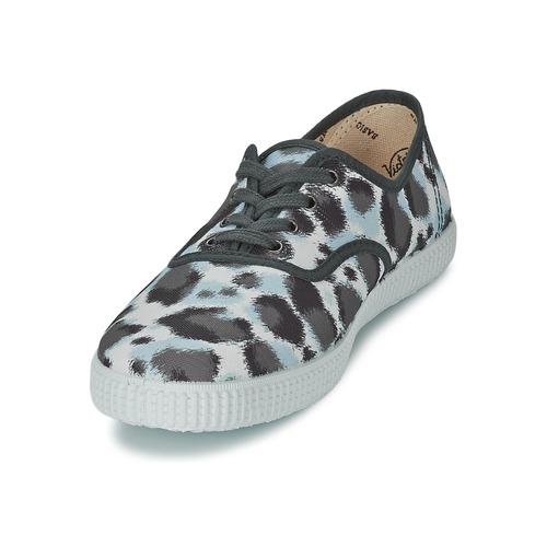 Zapatos Zapatillas Tigre Bajas Victoria Gris Inglesa Huella Estamp Mujer 35RLjA4