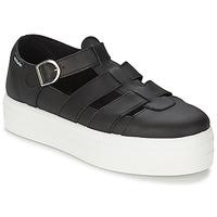 Zapatos Mujer Sandalias Victoria SANDALIA PIEL Negro