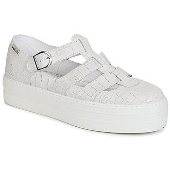 Zapatos Mujer Sandalias Victoria SANDALIA PIEL GRABADA COCO Blanco