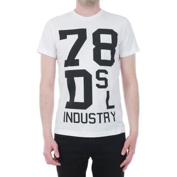 textil Hombre camisetas manga corta Diesel DIETSHUA172ST0304796 - 002 Blanco