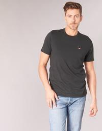 textil Hombre camisetas manga corta Levi's SS ORIGINAL HM TEE Negro