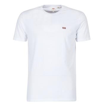 textil Hombre camisetas manga corta Levi's SS ORIGINAL HM TEE Blanco