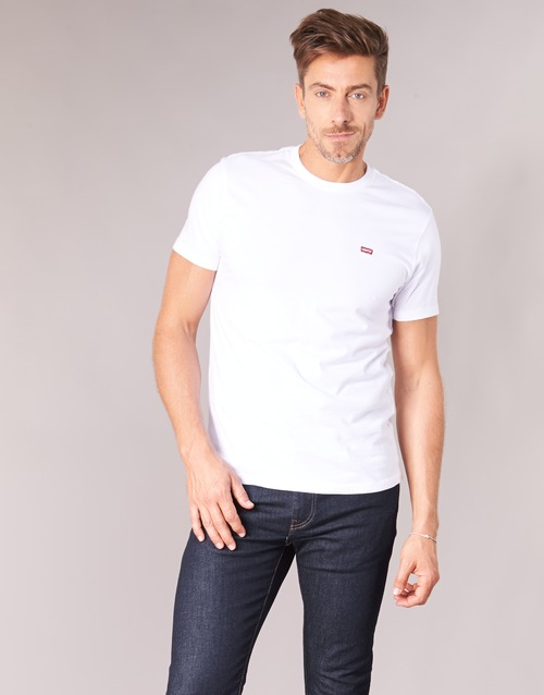 Original Tee Hm Ss Levi's Blanco oxQdBeErCW