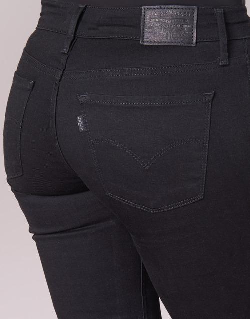 Vaqueros NegroGalaxy Super Skinny Levi's Textil Innovation Slim Mujer 8PNOvn0ywm