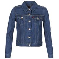 textil Mujer chaquetas denim Levi's ORIGINAL TRUCKER Azul / Oscuro