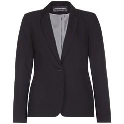 textil Mujer Chaquetas / Americana Anastasia - Chaqueta de traje con botonadura negra para mujer Black