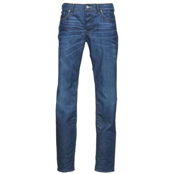 textil Hombre vaqueros rectos G-Star Raw 3301 LOW TAPERED Azul / Medium