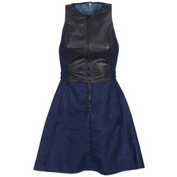 textil Mujer vestidos cortos G-Star Raw SUTZIL DRESS Marino / Negro