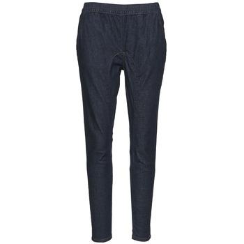 textil Mujer Pantalones fluidos Nikita REALITY SLIM Azul / Oscuro