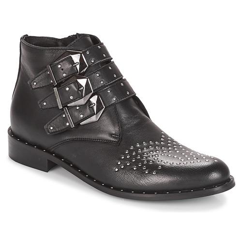 Caña Baja Mujer De Botas Lemon Elucy Sweet Negro Zapatos uTl3K1F5Jc