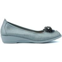 Zapatos Mujer Bailarinas-manoletinas Vulladi LETINAS  BURBUJAS GRIS