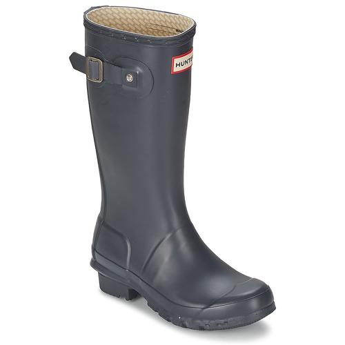 Zapatos Niños Botas de agua Hunter ORIGINAL JUNIORS Marino