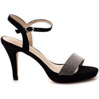 Zapatos Mujer Sandalias Azarey 375A236 Negro