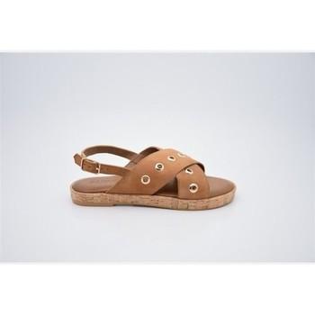 Zapatos Mujer Sandalias Inuovo Sandália 8261 Marrón