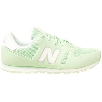 Zapatos Niños Zapatillas bajas New Balance 373 Verde claro
