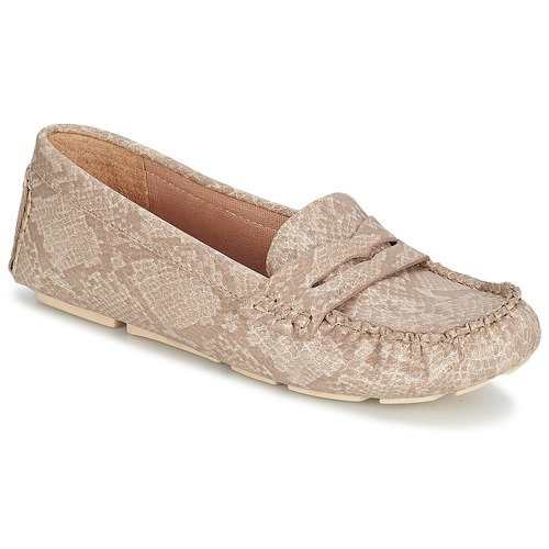 Zapatos Mujer Mocasín Esprit NOIR LOAFER Beige