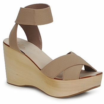 Zapatos Mujer Sandalias Belle by Sigerson Morrison ELASTIC Nude