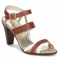 Zapatos Mujer Sandalias Karine Arabian JOLLY Cognac / Beige / Blanco