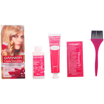 Belleza Mujer Tratamiento capilar Garnier Color Sensation 8 Rubio Luminoso 1 u
