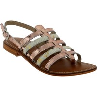 Zapatos Mujer Sandalias L'atelier Tropezien IL550 Cuero rosa pálido