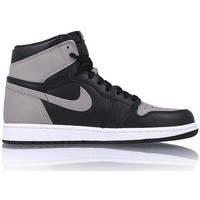 Zapatos Hombre Zapatillas altas Nike Air Jordan 1 Retro High OG Shadow Negro-Gris