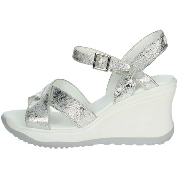 Zapatos Mujer Sandalias Agile By Ruco Line Agile By Rucoline  1871(8-A) Sandalias Mujer Plata Plata