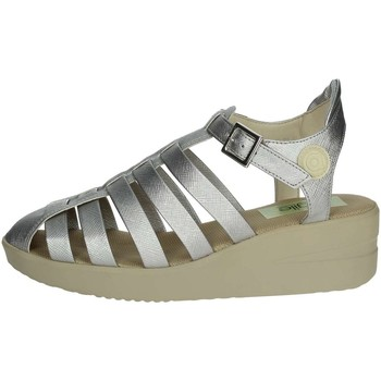 Zapatos Mujer Sandalias Agile By Ruco Line Agile By Rucoline  210(60-A) Sandalias Mujer Plata Plata