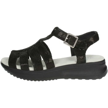 Zapatos Mujer Sandalias Agile By Ruco Line Agile By Rucoline  128(99-A) Sandalias Mujer Negro Negro
