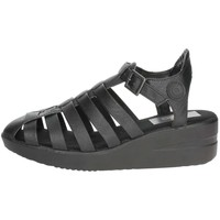 Zapatos Mujer Sandalias Agile By Ruco Line Agile By Rucoline  210(26-A) Sandalias Mujer Negro Negro
