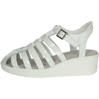 Zapatos Mujer Sandalias Agile By Ruco Line Agile By Rucoline  210(51-A) Sandalias Mujer Blanco Blanco