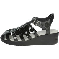 Zapatos Mujer Sandalias Agile By Ruco Line Agile By Rucoline  210(59-A) Sandalias Mujer Negro Negro