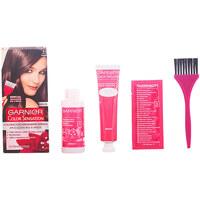 Belleza Mujer Tratamiento capilar Garnier Color Sensation 4.0 Castaño 1 u