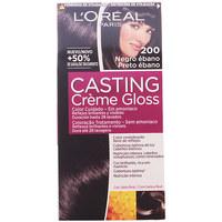 Belleza Tratamiento capilar L'oréal Casting Creme Gloss 200-negro Ébano 1 u