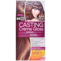 Belleza Mujer Coloración L'oréal Casting Creme Gloss 634-castaño Miel 1 u