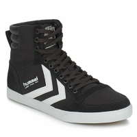 Zapatos Zapatillas altas Hummel TEN STAR HIGH CANVAS Negro / Blanco