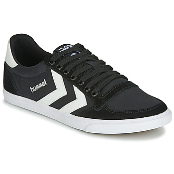 Zapatos Zapatillas bajas Hummel TEN STAR LOW CANVAS Negro / Blanco