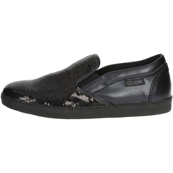 Zapatos Mujer Slip on Agile By Ruco Line Agile By Rucoline  2813(65-A) Slip-on Zapatos Mujer Negro Negro